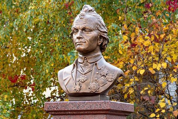 В Москве открыли бюст полководцу Александру Суворову