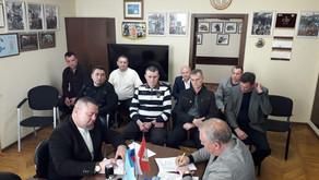 Подписание соглашения  между Севастопольским регионом ВПА МПА и Федерация Крымского Стиля