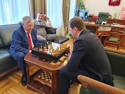 Встреча руководства СННВС России с руководителем Департамента спорта города Москвы
