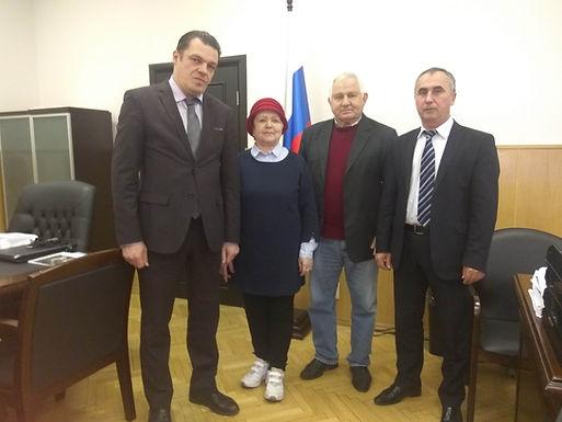 Встреча с заместителем руководителя ФАДН России Михаилом Николаевичем Мишиным