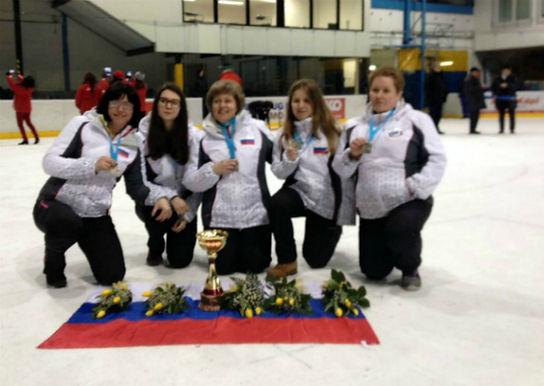 Поздравляем женскую команду по айсштоку со вторым местом