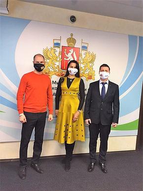 Развитие неолимпийских видов спорта в Свердловской области. Юлия Корнеева / Леонид Рапопорт