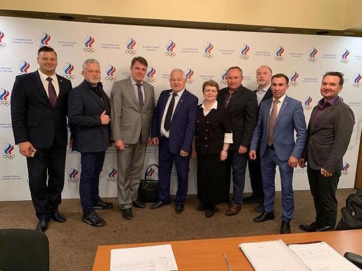 Заседание Правления Союза национальных и неолимпийских видов спорта России