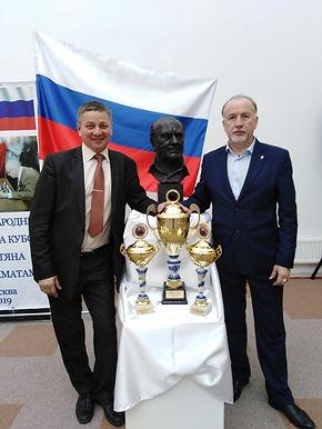 2-ой Международный турнир по шахматам на Кубок Героя России Алексея Николаевича Ботяна