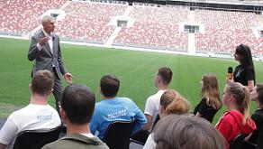 Олег Матыцин провел лекцию для школьников и студентов в Лужниках