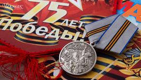 Почётный президент СННВС России - М.И. Тихомиров поздравил с 75-летием ВОВ 1941-1945гг.
