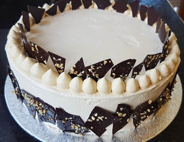 Chocolate, Salted Caramel & Hazelnut Birthday Cake
