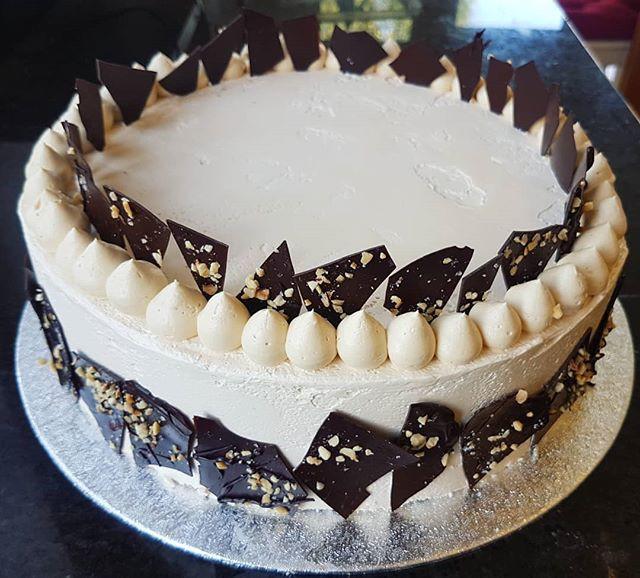 Chocolate, Salted Caramel & Hazelnut Birthday Cake