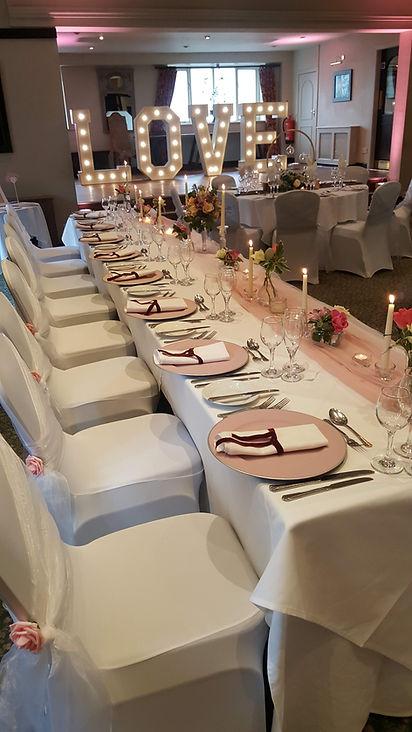 Wedding styling halifax, west yorkshire, venue decoration halifax