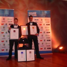 Richard and his awards