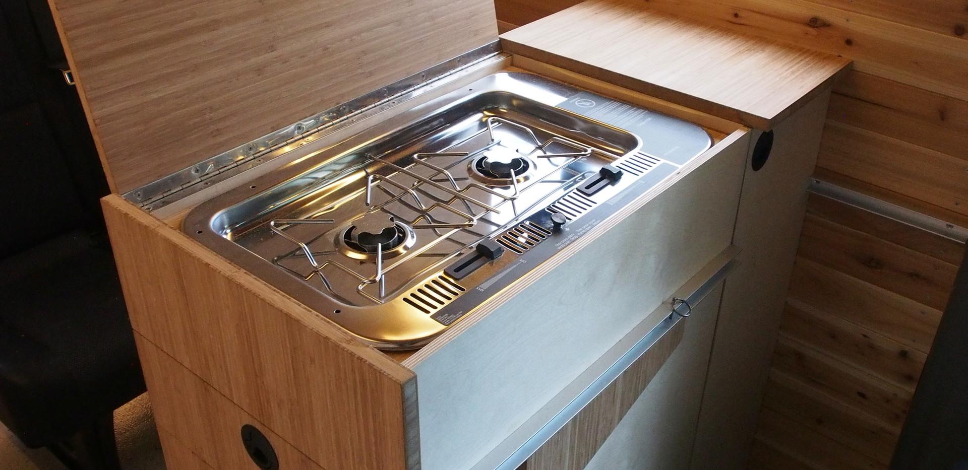 Sarah & Ryan's stove