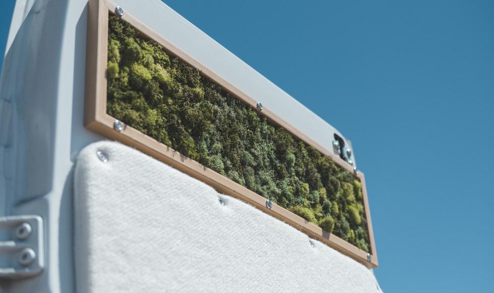 Moss panel