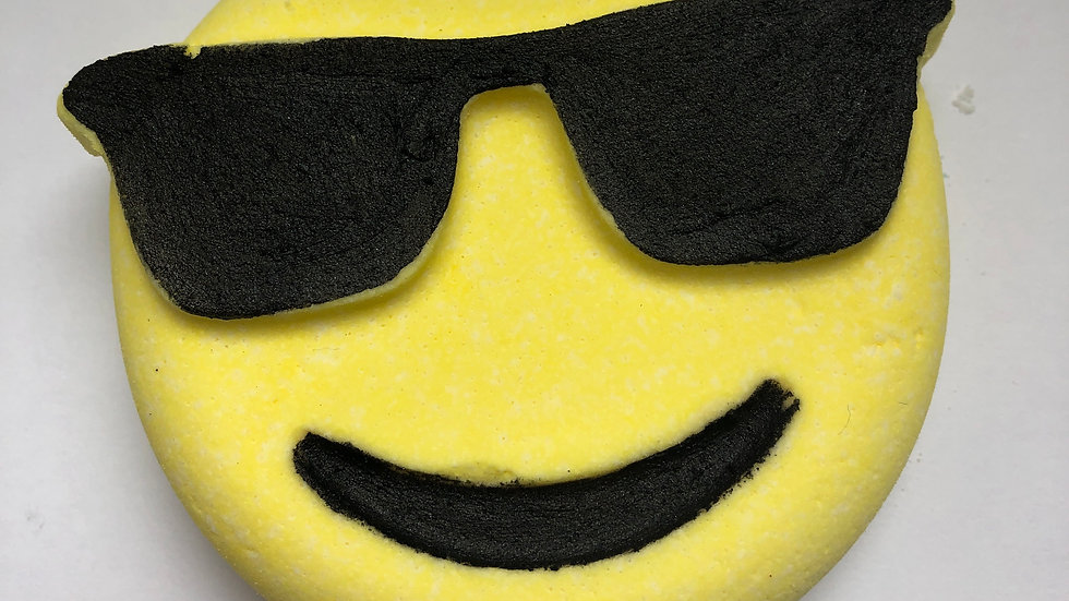 Cool Dude Emoji Bath Bomb