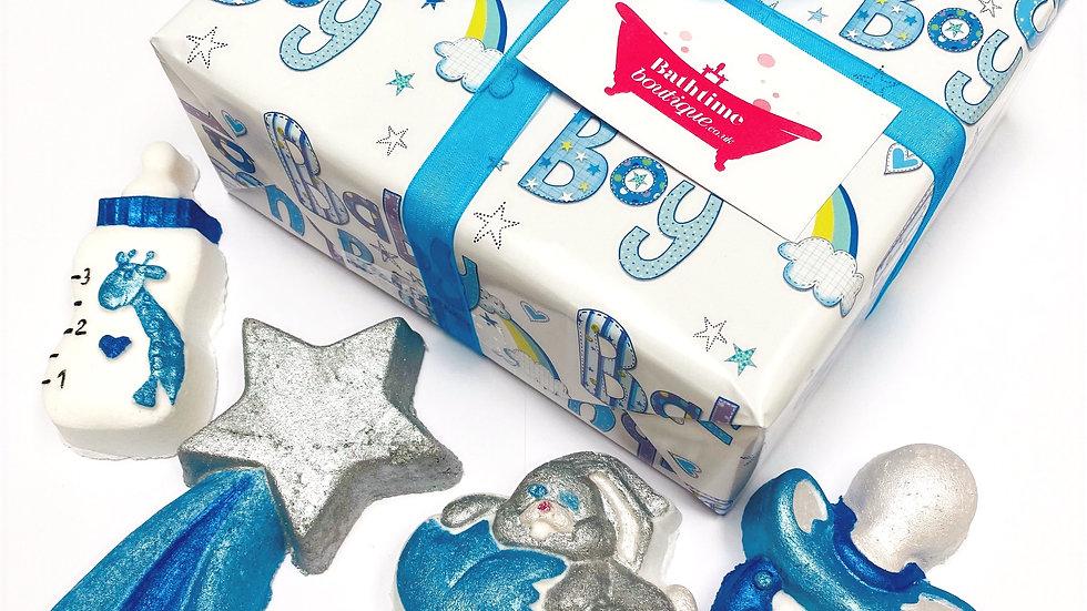 Mum To Be Baby Boy Gift Box