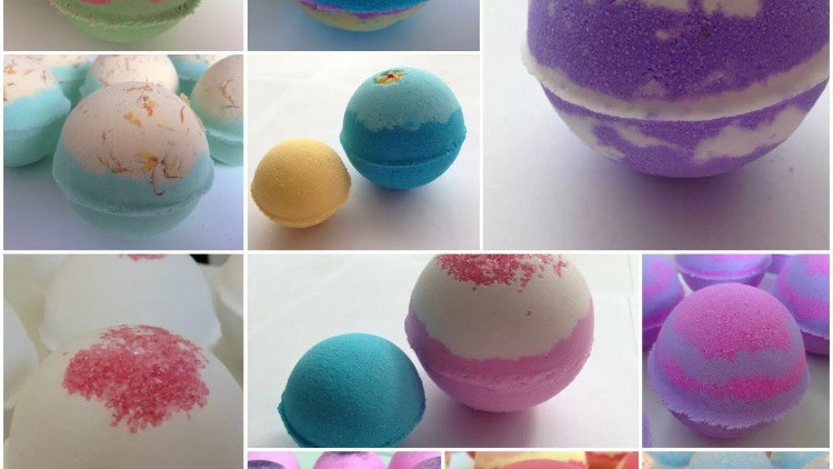 12 x Extra Large Assorted Bath Bombs