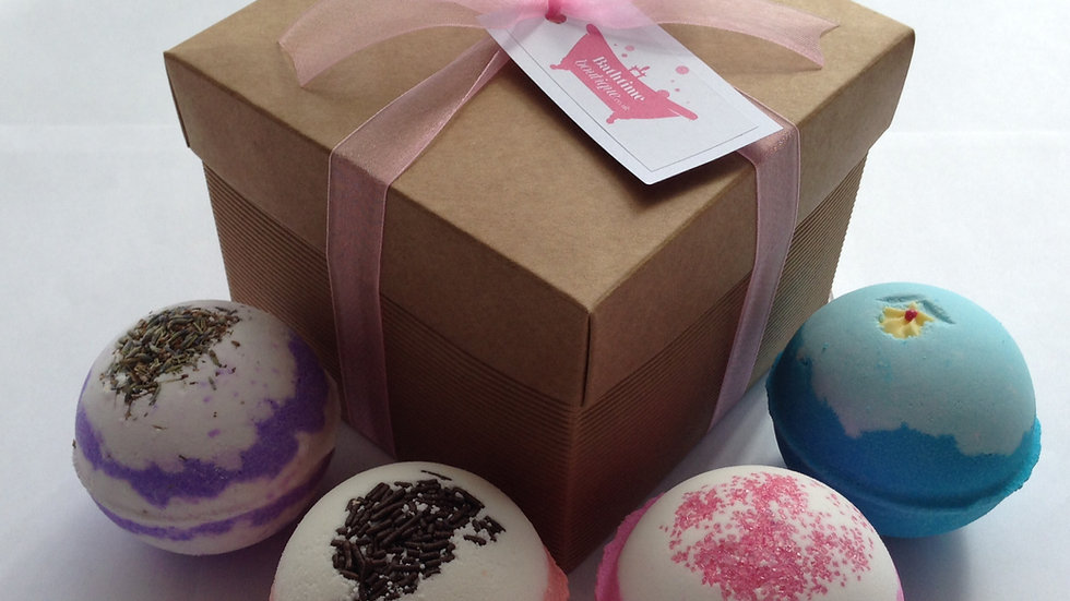 4 Bomb Box Gift Set