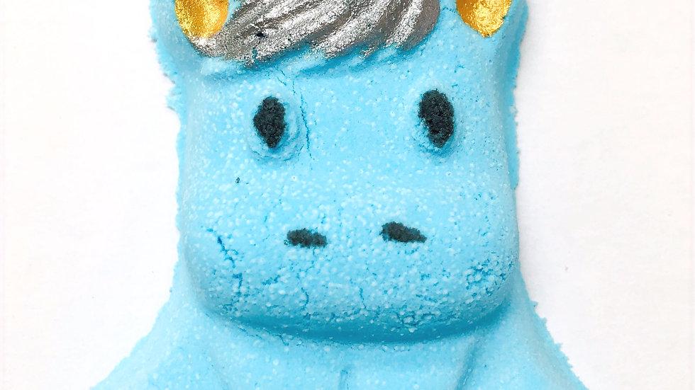 Blue Unicorn Bath Bomb