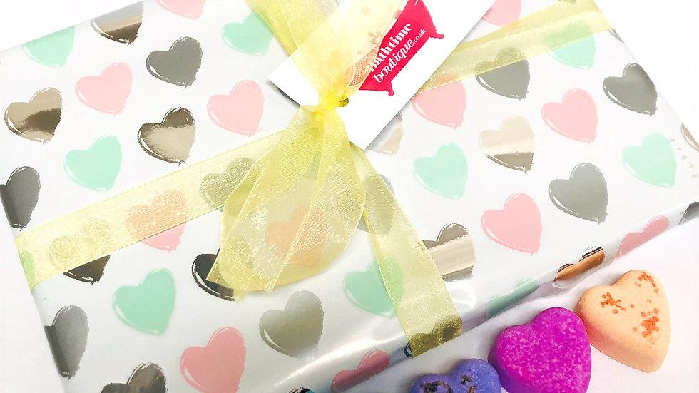 Sweetheart Bath Bomb Gift Box