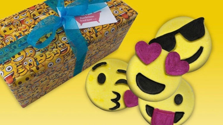 Emoji Bath Bomb Gift Set
