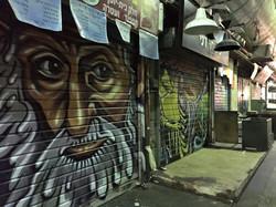 Bazar w Jerozolimie nocą