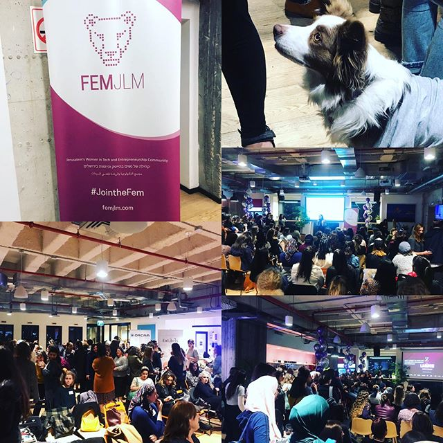 #femjlm #techcommunity #womenintech #isr