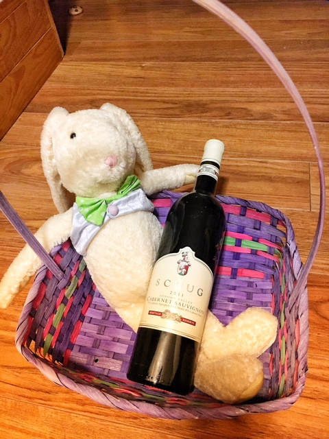 The bunny knows what I like, Schug Heritage Reserve Cabernet Sauvignon