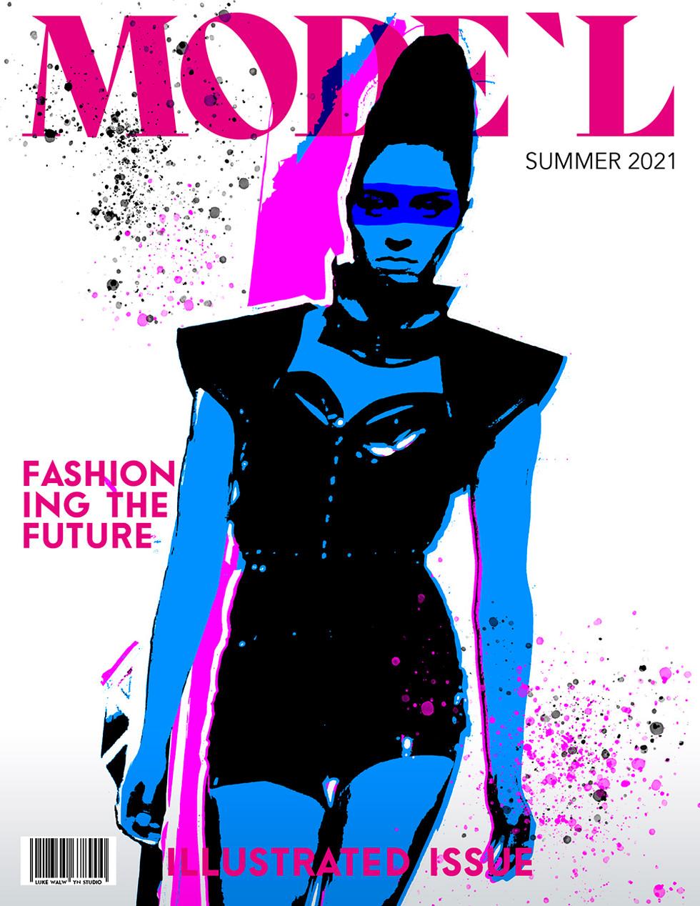 F-F-Future Glam - Magazine Cover