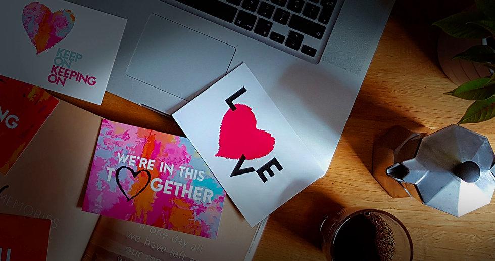 Share The Love Banner - Luke Walwyn Studio