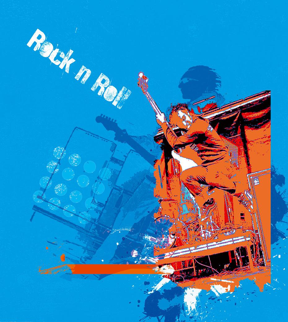 Rock-n-Roll - Blue