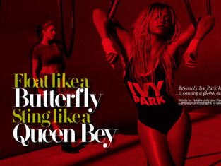 Float Like A Butterfly Sting Like A Queen Bey: Ivy Park