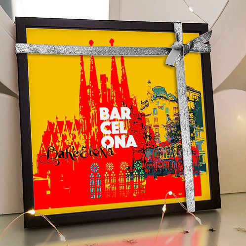 Barcelona - Art Tile
