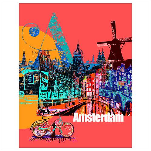 Amsterdam - Fine Art Print