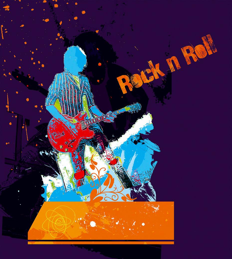 Rock-n-Roll - Purple