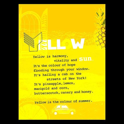 """Harmony in Yellow"" - Art Print"