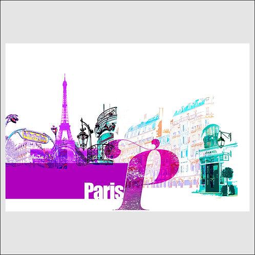 Paris By Day - Fine Art Print