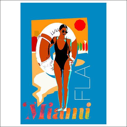 Miami, FLA - Fine Art Print