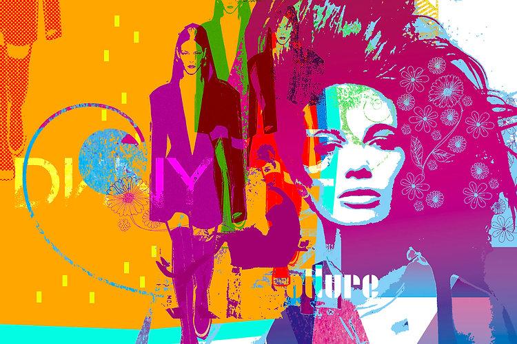 Explore Fashion Banner - Luke Walwyn Shop Art Tiles