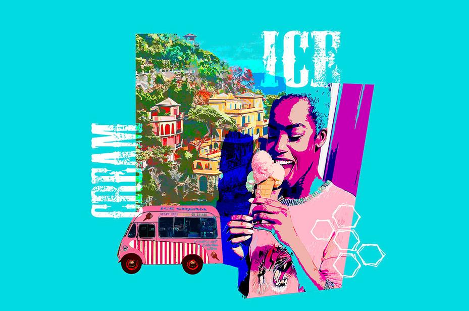 Ice Cream in Portofino