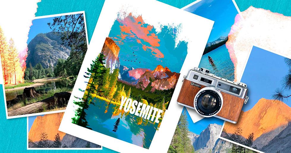 Yosemite Fine Art Print - Luke Walwyn Studio
