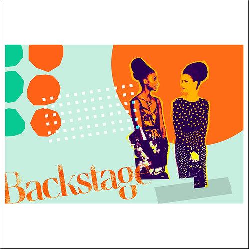 Backstage - Fine Art Print