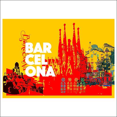 Barcelona - Fine Art Print