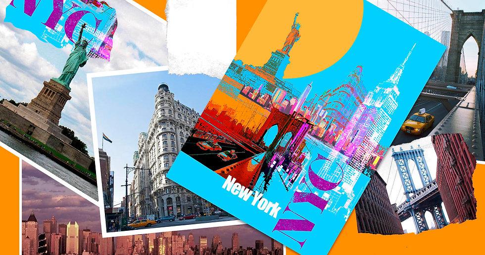 NYC Fine Art Print - Luke Walwyn Studio