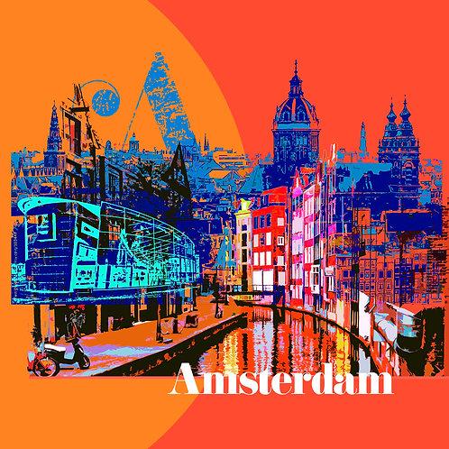 Amsterdam - Art Tile