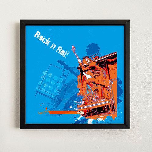 Rock n Roll - Art Tile