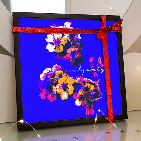 Primrose in Blue - Art Tile