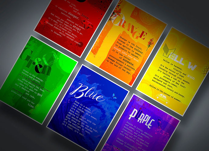 Explore Colourful Language Banner - Luke Walwyn Shop Lovecards