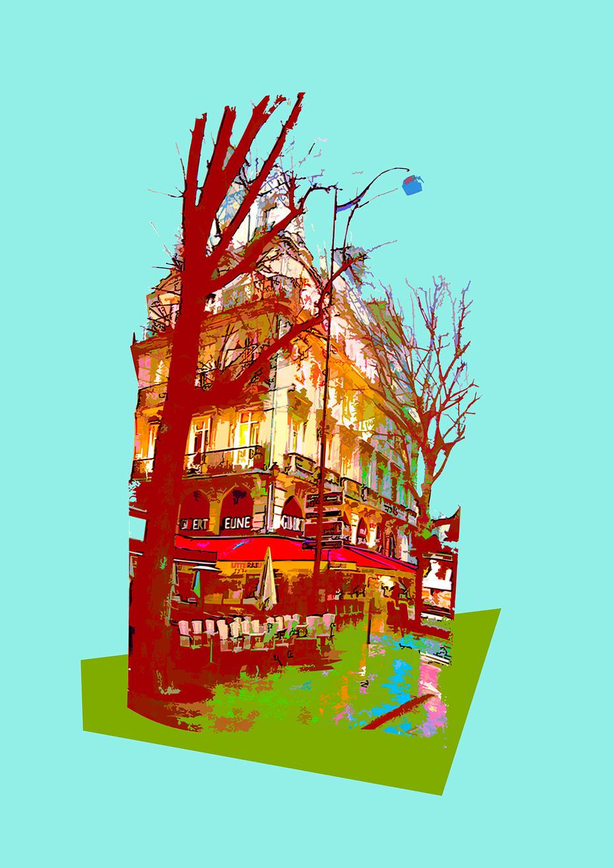 A Brasserie in Paris