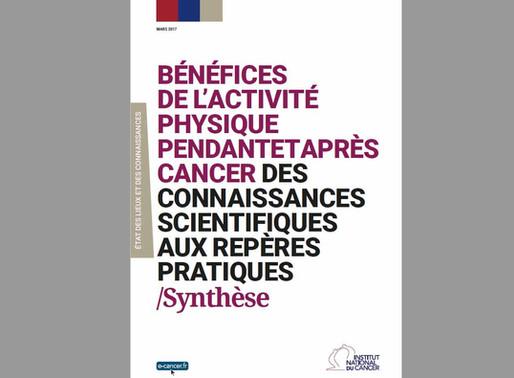 Les bénéfices de l'activité physique pendant et après cancer