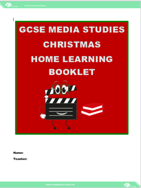 Christmas Home Learning Booklet GCSE