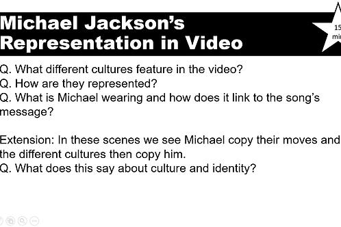 Black or White Music Video Lessons_GCSE Media